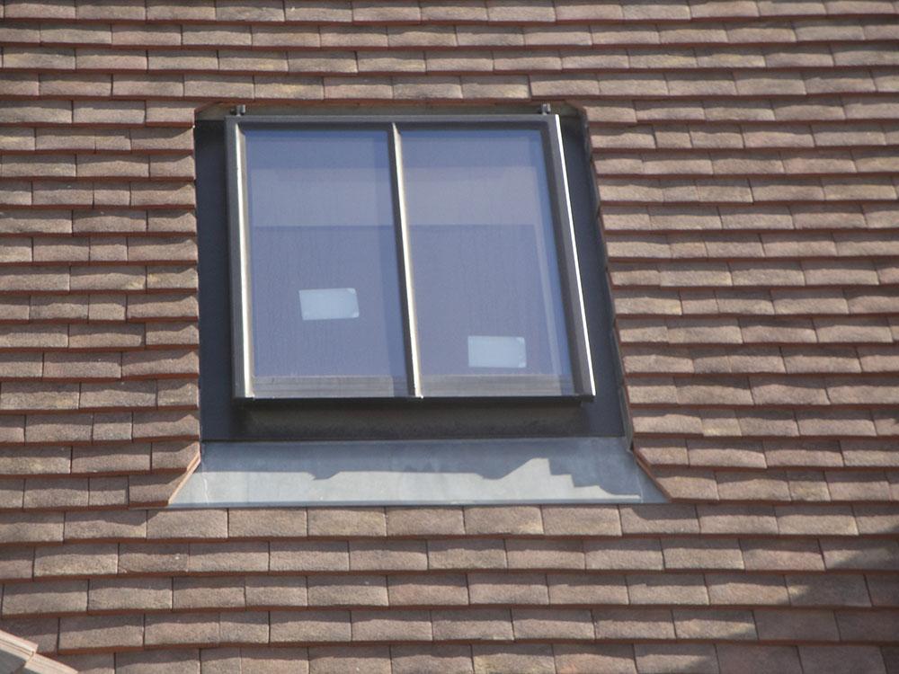 Exemples de fen tres de toit sa ne seille charpente for Fenetre de toit
